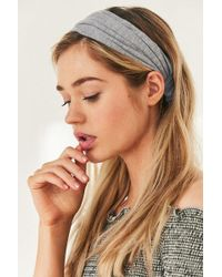Urban Outfitters - Cotton Wideband Headwrap - Lyst