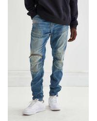 G-Star RAW 3d Zip-knee Jean - Blue