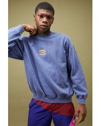 Urban Outfitters Uo Navy Nebraska Sweatshirt - Blue