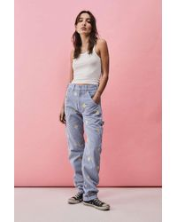 Stan Ray Daisy Hickory Og Painter Trousers - Blue