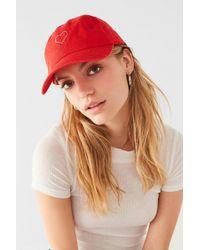 Urban Outfitters - Rhinestone Heart Baseball Hat - Lyst