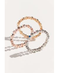Urban Outfitters Little Daisy Ring Set - Multicolor
