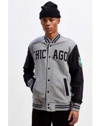 47 Brand Chicago Blackhawks Winter Classic Dugout Track Jacket - Grey