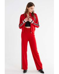 Urban Outfitters - Uo Mid-rise Striped Sweater Pant - Lyst