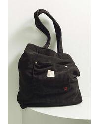 BDG Classic Corduroy Tote Bag - Black