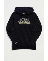 Tentree National Geographic Logo Hoodie Sweatshirt - Black