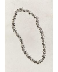 Urban Outfitters Barbed Wire Necklace - Multicolor