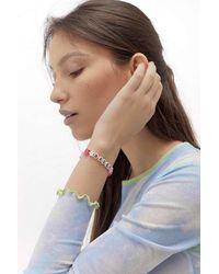 Urban Outfitters Bossy Beaded Bracelet - Multicolour