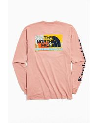 The North Face Rouge Long Sleeve Tee - Pink