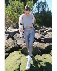 Heroine Sport Marvel Metallic High-waisted Legging - Multicolour
