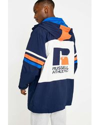 Russell Athletic Donovan Navy Jacket - Blue