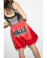 adidas X Dry Clean Only Boxing Shorts - Red