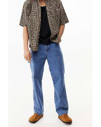 The Ragged Priest Kickers Uo Exclusive Stone Wash Carpenter Jeans - Blue