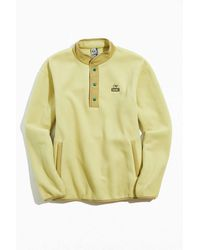 Chums Chumley Fleece Hurricane Jacket - Yellow