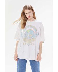 Urban Outfitters Van Halen T-shirt Dress - Multicolor