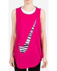 Nike Top Dri-fit Icon Clash - Rosa
