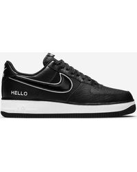 Nike Air Force 1 07 LX Hello My Name Is Sneakers - Nero