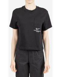 Nike T-shirt Sportswear Swoosh - Black