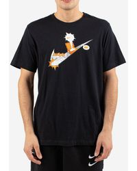 Nike T-shirt a stampa - Nero