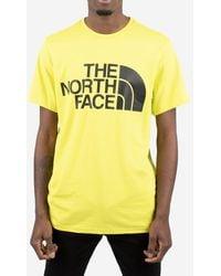 The North Face T-shirt Logo - Yellow