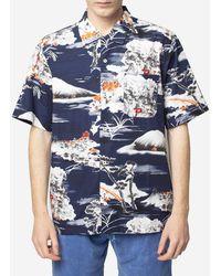 Universal Works - Camicia Fuji Summer - Lyst