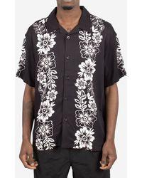 Stussy Camicia Hawaiian Pattern - Nero