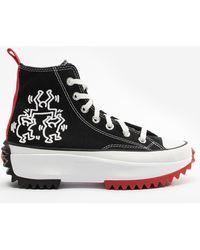 Converse Run Star Hike Keith Haring Sneakers - Nero