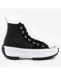 Converse Run Star Hike Black Ice Sneakers - Nero