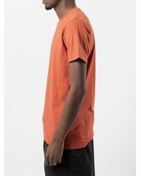 COLORFUL STANDARD T-shirt in cotone - Arancione