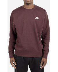 Nike Felpa Sportswear Club - Viola