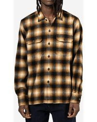 Universal Works - Camicia Utility Wool Plaid - Lyst