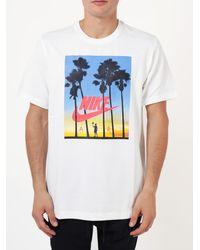 Nike T-Shirt in cotone - Bianco