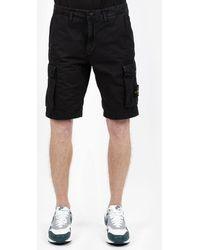 Stone Island Shorts bermuda cargo - Nero