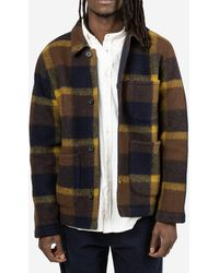 Universal Works - Giacca Field Plaid - Lyst