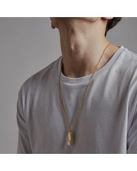 Northskull In N Out Tag Necklace - Multicolor