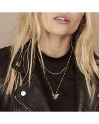 Rachel Jackson Eagle Necklace Gold - Black