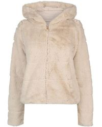 top quality large discount buying new Women's ONLY Fur jackets from £17 Online Sale - Lyst