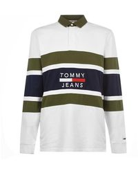 Tommy Hilfiger - Panel Rugby Shirt - Lyst