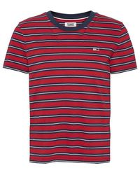 Tommy Hilfiger - Classic Stripe T Shirt - Lyst