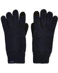 Jack Wills Elwyn Rib Gloves - Blue