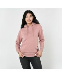 Firetrap Distressed Hoodie Ladies - Pink
