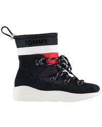 Tommy Hilfiger - Padded Nylon Boots - Lyst