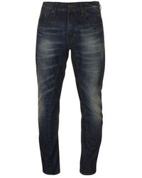 G-Star RAW - A Crotch Tapered Jeans Mens - Blue - Lyst