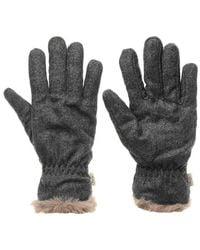 Firetrap Acca Gloves Ladies Women's Gloves In Grey - Gray