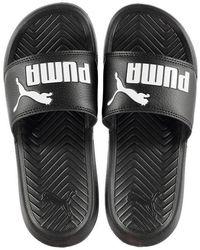 PUMA Popcat Sliders - Black