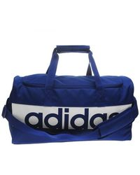 adidas Lin Per Tb S Men's Sports Bag In Blue
