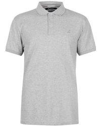 Kangol Brit Fit Polo Shirt Mens - Gray