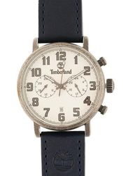 Timberland Richdale Leather Strap Watch - Multicolour