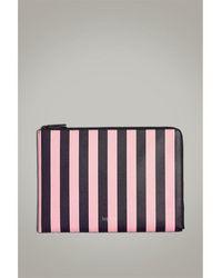 Jack Wills Brunswick Stripe Tech Case - Pink