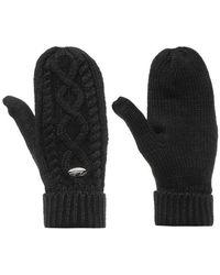 Firetrap Mittens Ladies Women's Gloves In Black